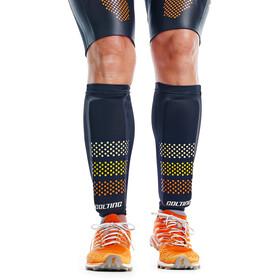 Colting Wetsuits SC02 Extreme Float Plus Espinilleras Swimrun, negro/amarillo